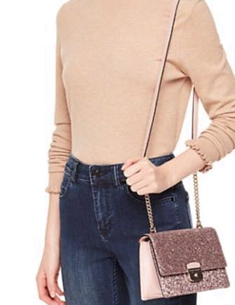 Kate Spade New York Sunset Lane Eden Glitter Crossbody