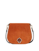 Kate Spade New York Suzy Suede Large Saddle Bag