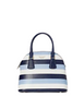 Kate Spade New York Sylvia Embossed Stripe Medium Dome Satchel