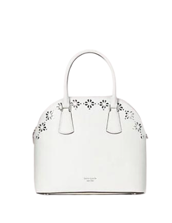 Kate Spade New York Sylvia Perforated Large Satchel