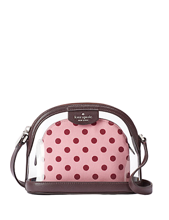 Kate Spade New York Sylvia See Through Lia Dot Dome Crossbody