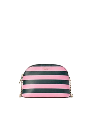 Kate Spade New York Sylvia Stripe Small Dome Crossbody