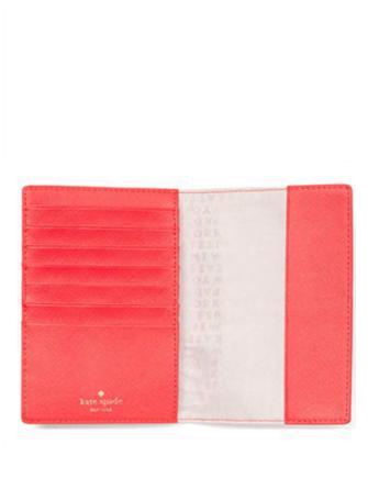 Kate Spade New York Take a Walk on the Wild Side Flamingo Passport Holder