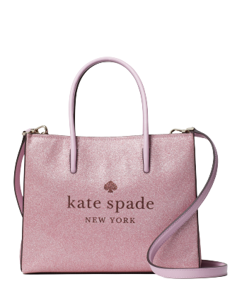 Kate Spade New York Trista Glitter Shopper Tote