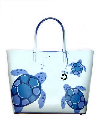 Kate Spade New York Under The Sea Len Turtle Tote