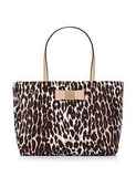 Kate Spade New York Veranda Place Leopard Print Nylon Small Evie Tote