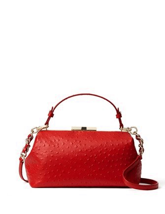Kate Spade New York Victoria Falls Madeline Ostrich Embossed Satchel