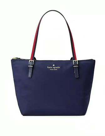 Kate Spade New York Watson Lane Varsity Stripe Small Maya Tote