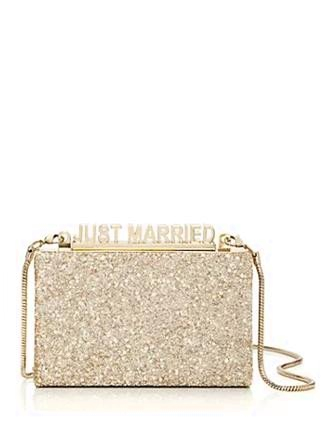 Kate Spade New York Wedding Belles Glitter Ravi Clutch