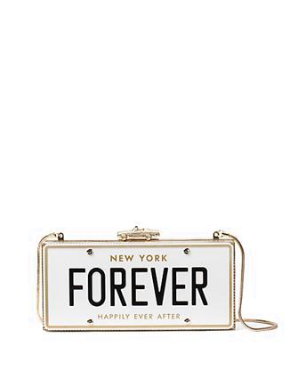 Kate Spade New York Wedding Belles License Plate Clutch