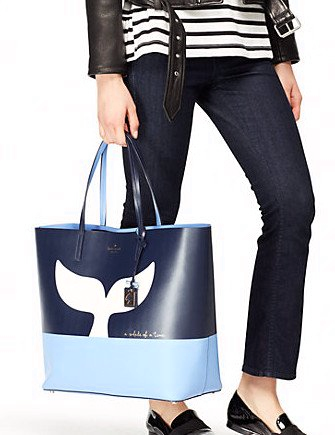 Kate Spade New York Whale Off We Go Len Tote