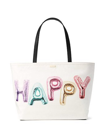 Kate Spade New York Whimsies Happy Francis Tote