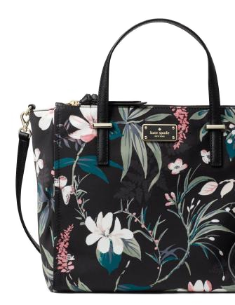 Kate Spade New York Wilson Road Floral Alyse Nylon Satchel