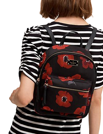 Kate Spade New York Wilson Road Poppy Small Bradley Backpack