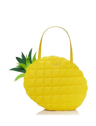Kate Spade New York Wing It Pineapple Shoulder Tote