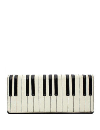 Kate Spade New York Duet Piano Key Clutch