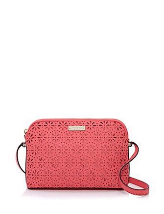 Kate Spade New York Cedar Street Perforated Floral Mandy Crossbody