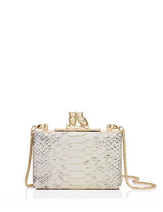 Kate Spade New York Wedding Belles Love Owls Clutch
