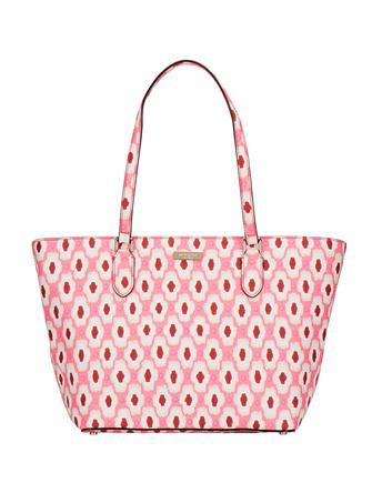Kate Spade New York Small Dally Laurel Way Printed Ikat Tote