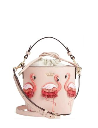 Kate Spade New York Flamingo By The Pool Pippa Bucket Bag