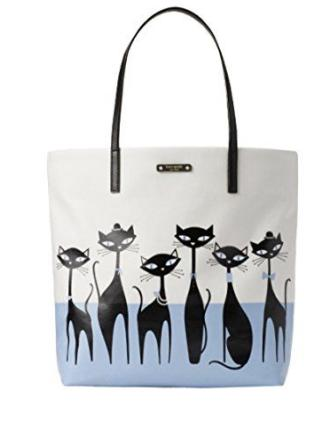 Kate Spade New York Jazz Things Up Jazz Cats Bon Shopper Tote
