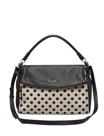 Kate Spade New York Cobble Hill Little Minka Canvas Dot Shoulder Bag