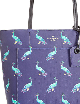 Kate Spade New York Harding Street Peacock Small Riley Tote