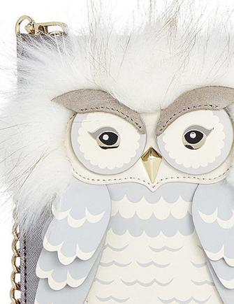 Kate Spade New York Star Bright Owl Sima Clutch