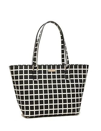 Kate Spade New York Small Dally Laurel Way Check Tote