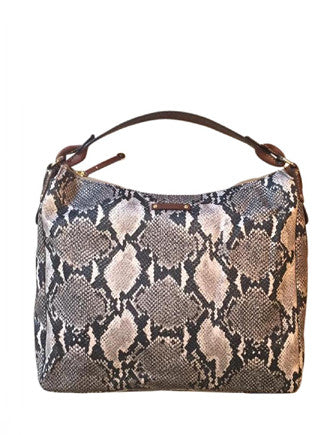 Kate Spade New York Sateen Fabric Python Shoulder Bag