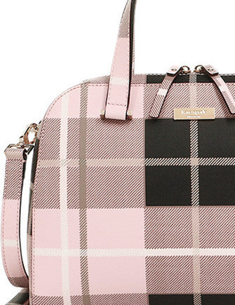 Kate Spade New York Small Felix Plaid Satchel