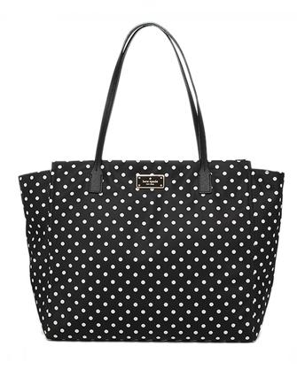 Kate Spade New York Blake Avenue Taden Nylon Dot Tote