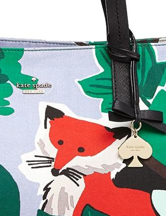 Kate Spade New York Blaze A Trail Large Fox Ryan Tote