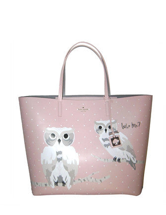 Kate Spade New York Blaze a Trail Len Who Me Owl Tote