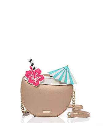 Kate Spade New York Breath of Fresh Air Coconut Drink Crossbody