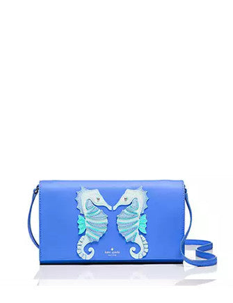 Kate Spade New York Breath of Fresh Air Seahorse Applique Cali