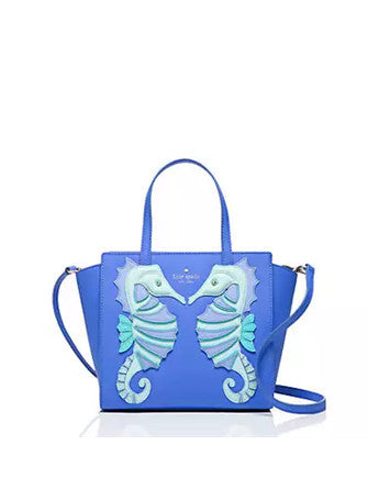 Kate Spade New York Breath of Fresh Air Seahorse Small Hayden Satchel