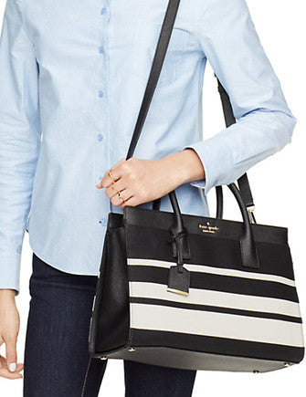 Kate Spade New York Cameron Street Stripe Candace Satchel