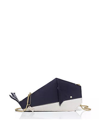 Kate Spade New York Caution to the Wind Origami Whale Crossbody