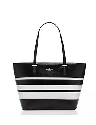 Kate Spade New York Cedar Street Stripe Small Harmony Tote