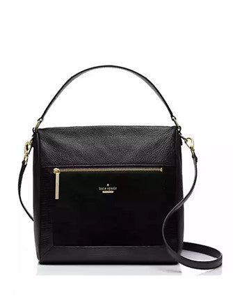 Kate Spade New York Chatham Lane Lizard Embossed Harris Satchel