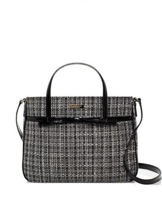 Kate Spade New York Chestnut Ridge Goldie Tweed Bow Satchel
