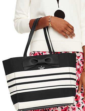 Kate Spade New York Clement Street Stripe Blair Tote