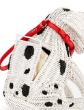 Kate Spade New York Rose Colored Glasses Wicker Dalmatian