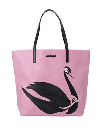 Kate Spade New York Daycation Bon Shopper Swan Around Tote