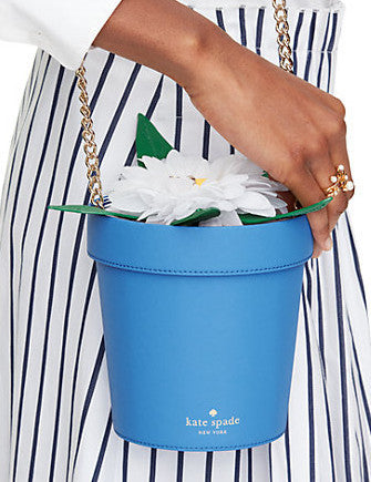 Kate Spade New York Down the Rabbit Hole Daisy Flowerpot