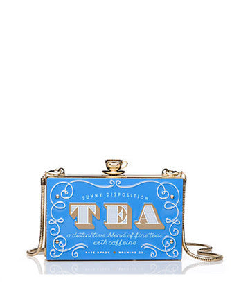 Kate Spade New York Down The Rabbit Hole English Tea Clutch
