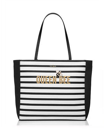 Kate Spade New York Down the Rabbit Hole Queen Bee Hallie Tote