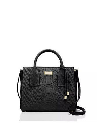 Kate Spade New York Elsie Street Exotic Small Meriwether Satchel