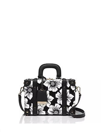 Kate Spade New York Expand Your Horizons Floral Train Case